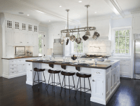 Solutions to oversized kitchen islands - Salome Interiors