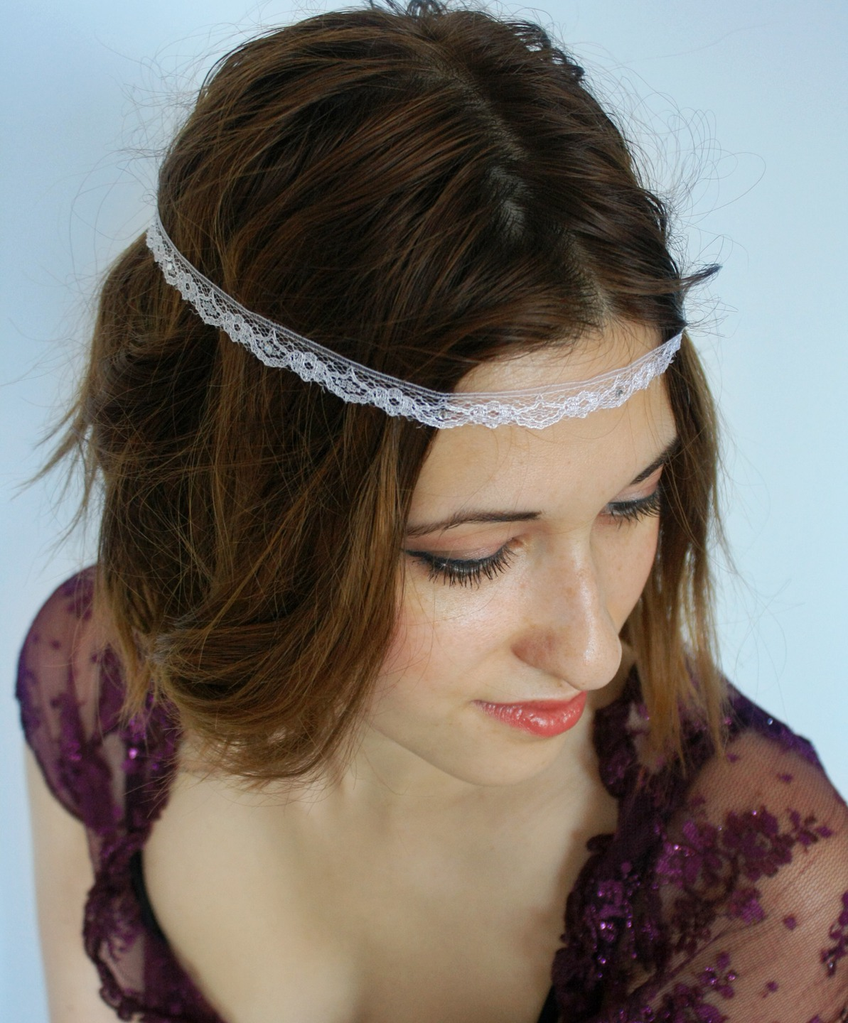 Coiffure Mariage Simple Et Chic Headband Mariage Boheme Latest Headband Mariage Blanc Et