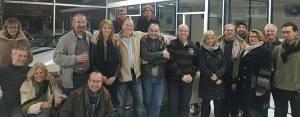 Toute l'équipe du SVA vous souhaite de bonnes fêtes de fin d'année et une excellente année 2017... Photo de la réunion du 2 décembre dernier, avant que tout le monde ne soit parti.
