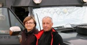 SVA2016 & Claire et André LOEGEL au Salon du Véhicule d'Aventure. Vus par Le Monde du Camping-Car !