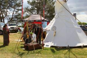 Campement indien 1