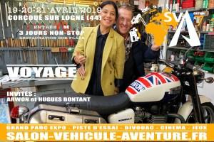 Arwon et Hugues BONTANT vont rejoindre la Thaïlande par la route en traversant 14 pays 14000 kilomètres en 140 jours