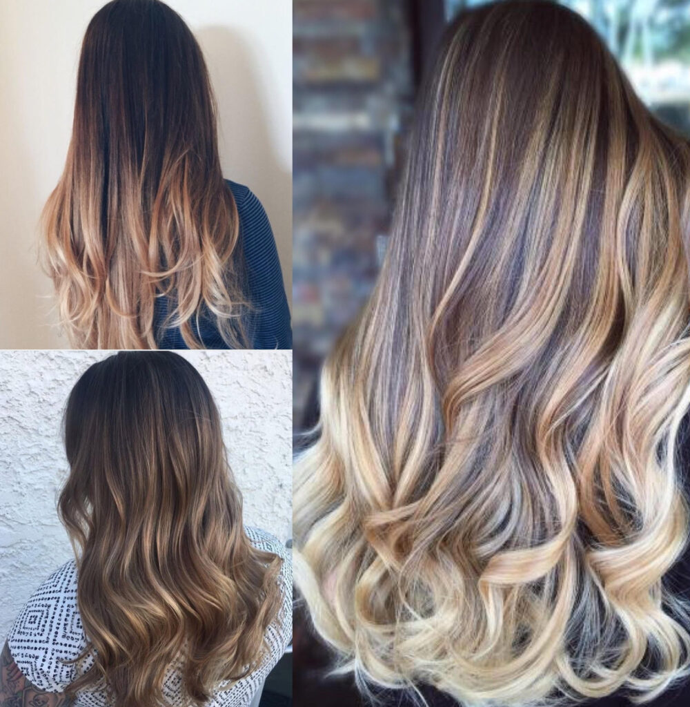 Ombre Look The Differences Between Color Melting Balayage And Ombre The