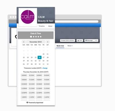 Appointedd Salon Software Facebook Bookings Image