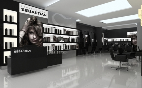 Black White Modern Wallpaper Salon Design Beauty Planet Salon Design Salon Furniture