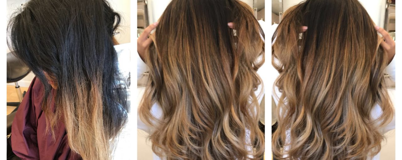 Full Balayage / BlowDry