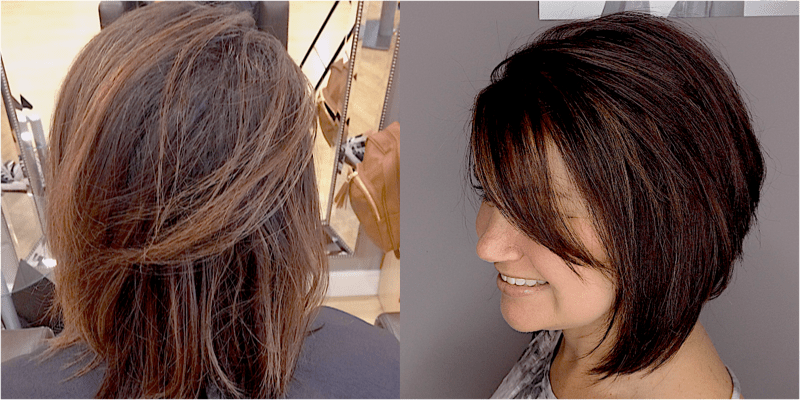 Full color / Highlights / Ladies Cut / Style