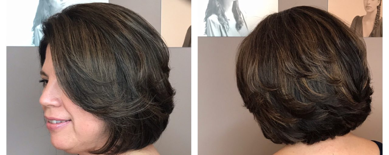 Full Color Highlights Haircut And Blowdry Salon Mulberry
