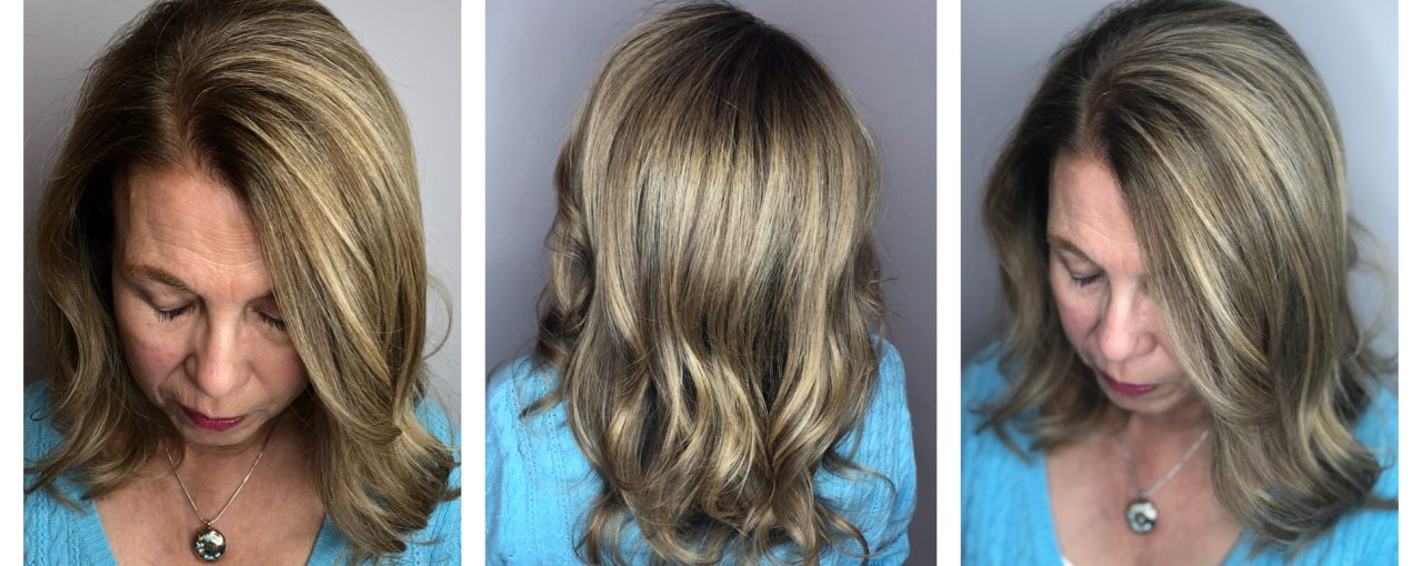 Full Color / Highlights / Ladies Cut and Blowdry