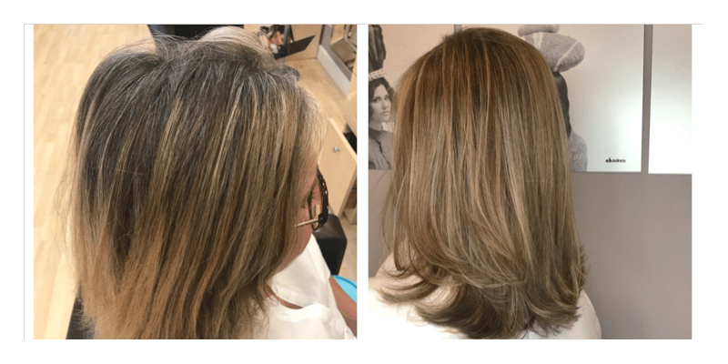 half-head-highlights-1 Before and After Hair Makeovers in Naples FL