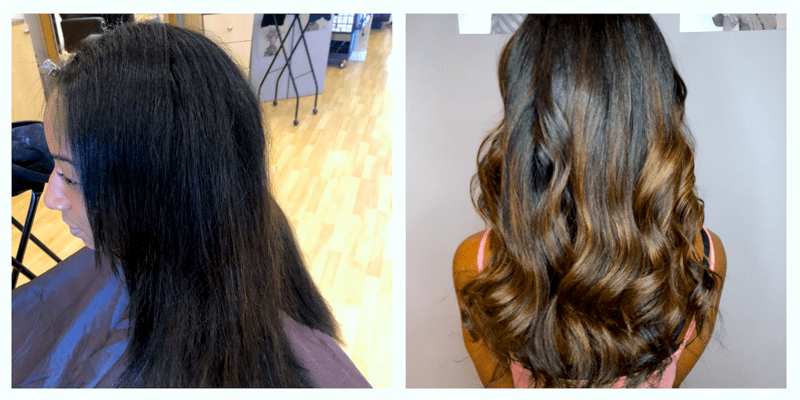 balayage-cut-style Before and After Hair Makeovers in Naples FL