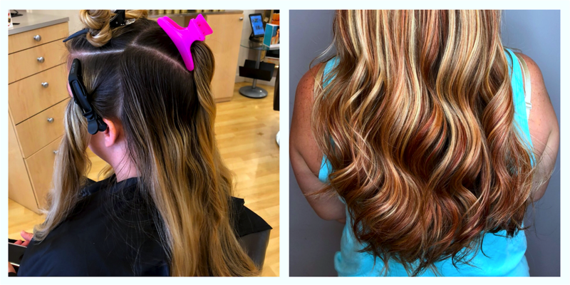 Full Highlight / Balayage / Cut / Style