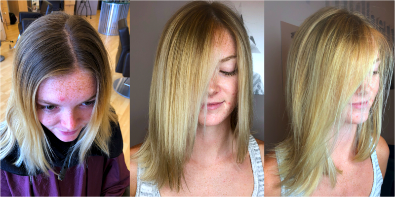 hlllsr Before and After Hair Makeovers in Naples FL