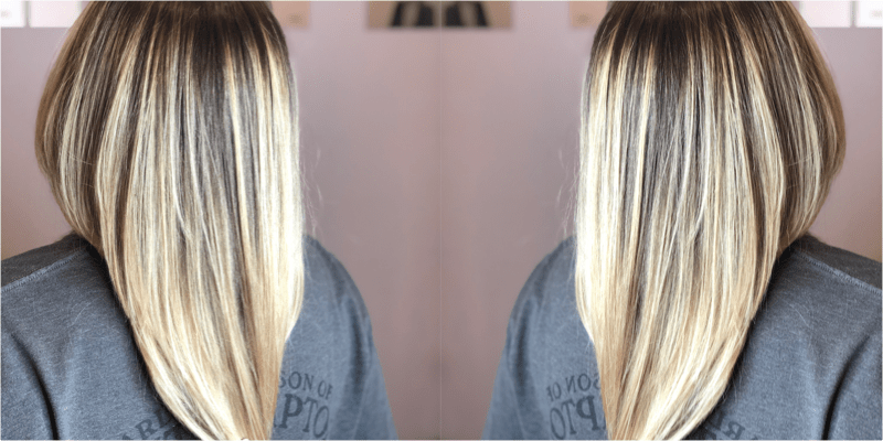 Partial Head Balayage / Toner / Blowdry