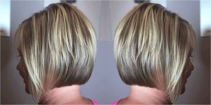 Half Head Highlight / Cut / Blowdry