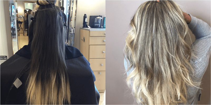 Multi-Step Corrective Color / Blowdry
