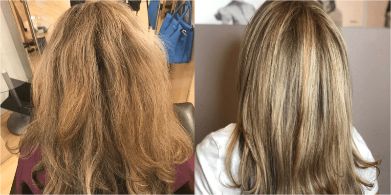 Root Touchup / Highlight / Haircut / Blowdry