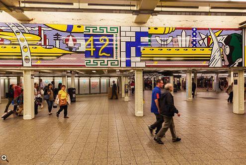 42nd St subway