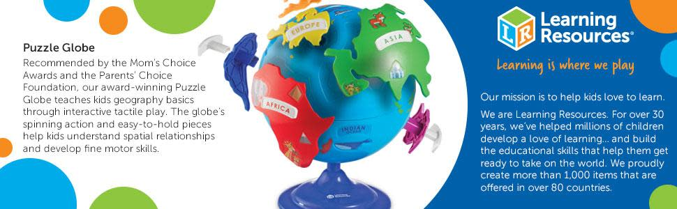 Learning Resources Puzzle Globe, 14 Pieces - Walmart