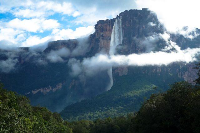 Angel Falls Venezuela Wallpaper La Cascada M 225 S Alta Del Mundo Salto 193 Ngel En Venezuela
