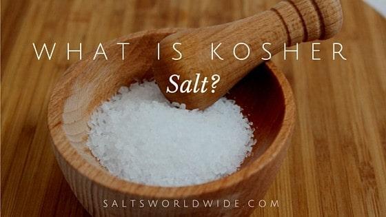 What Is Kosher Salt Salts Worldwide