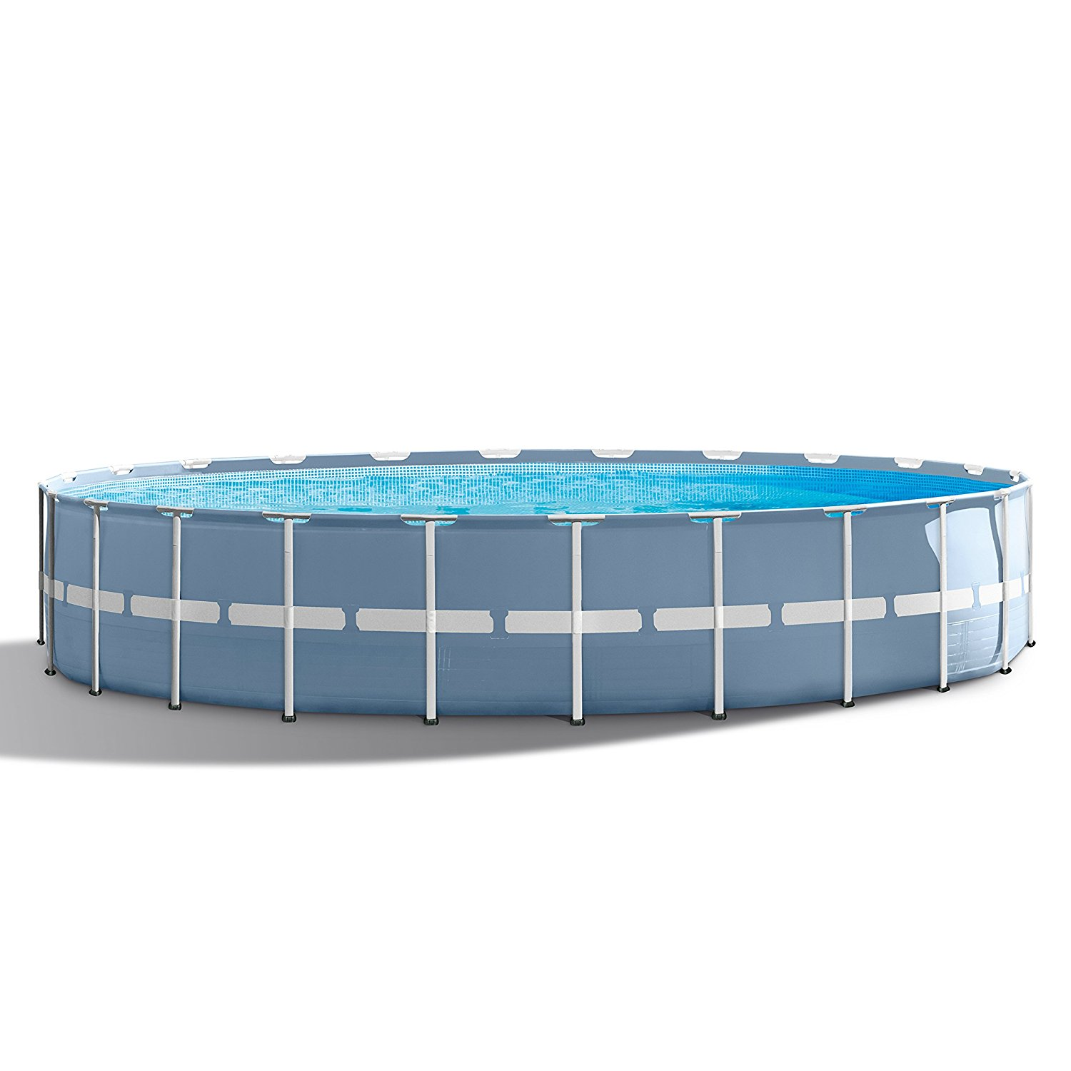 Frame Pool Test Intex 24ft X 52in Prism Frame Pool Set With Filter Pump