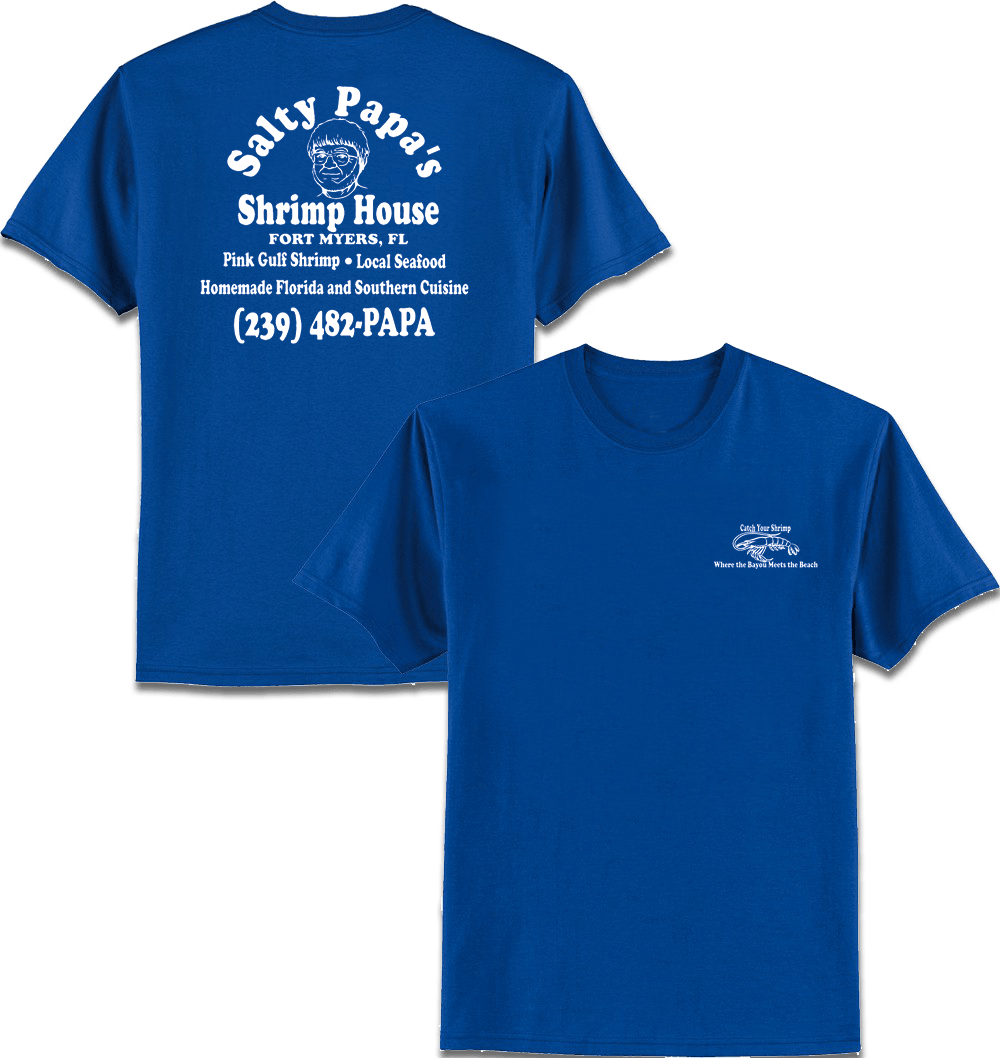Zazzle t shirt design template - Zazzle T Shirt Design Template Men S Royal Blue T Shirt Salty Papa S Shrimp Download