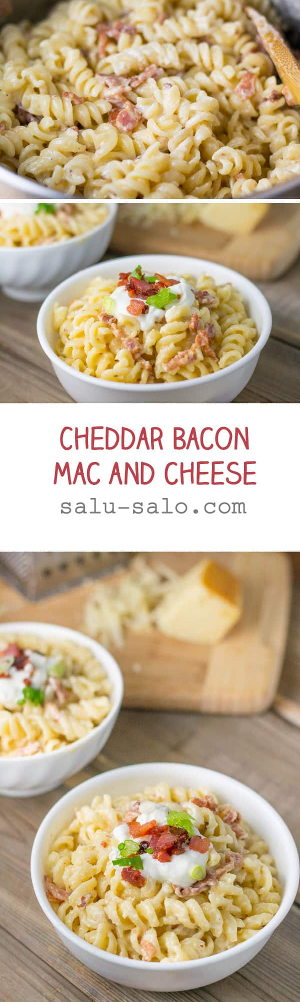 Cheddar Bacon Mac and Cheese - Salu Salo Recipes