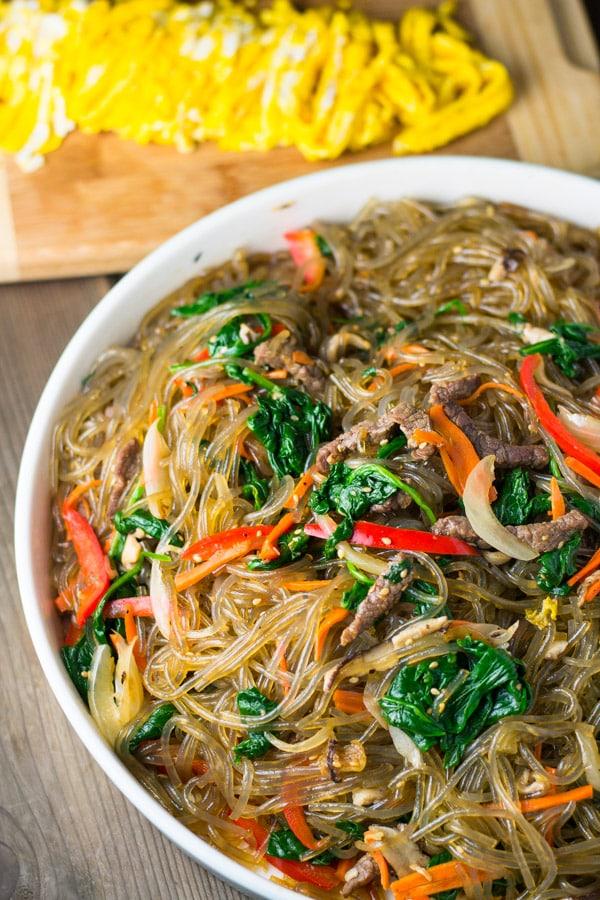 how to make korean noodles