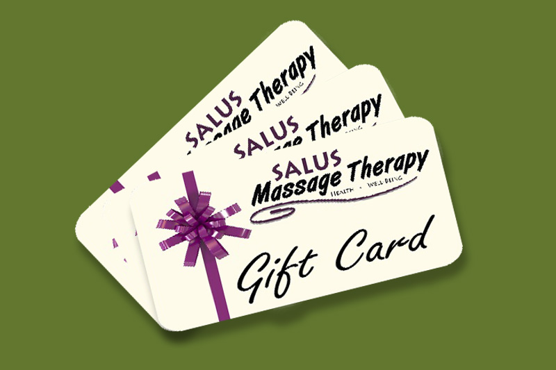 Massage Therapy & Skin Care Gift Card Special