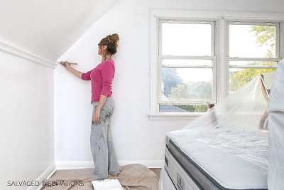 How To Paint Over Wallpaper The Quick & Dirty Way