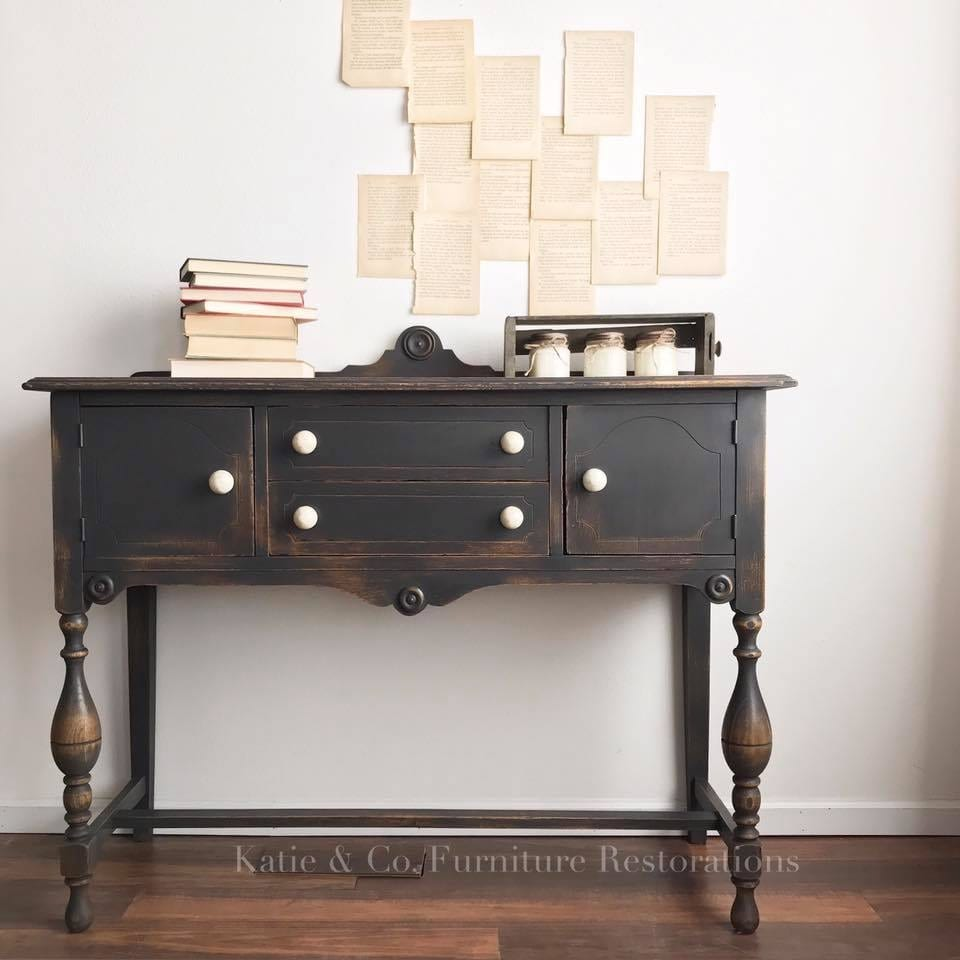 Best Black Paint For Furniture Salvaged Inspirations