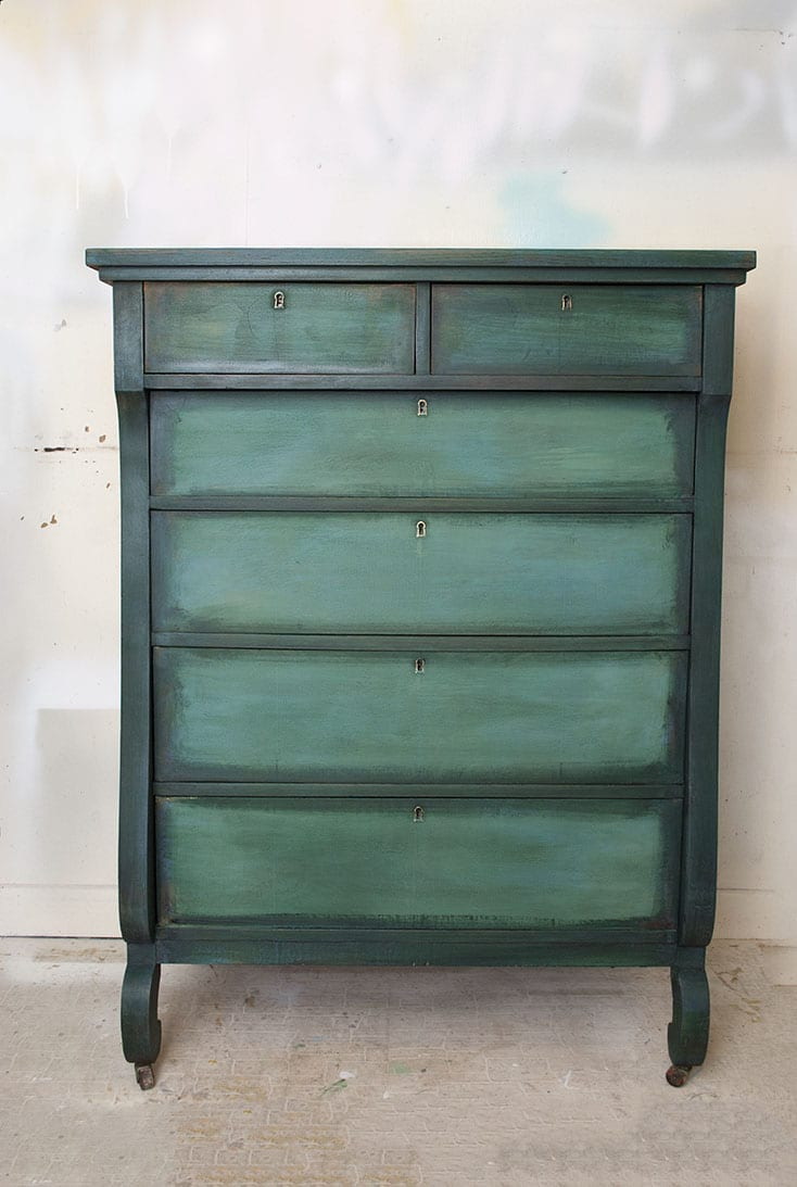 Keuken Verven Annie Sloan Layering Chalk Paint Salvaged Inspirations