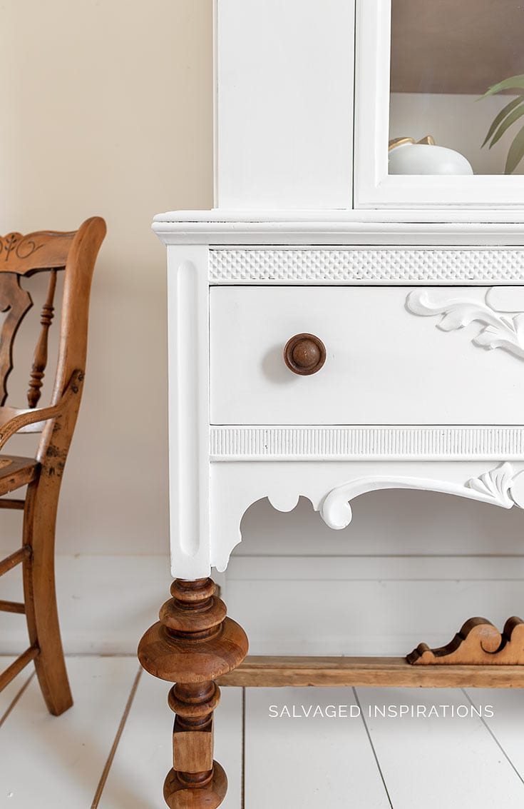 How To Paint Furniture White Salvaged Inspirations
