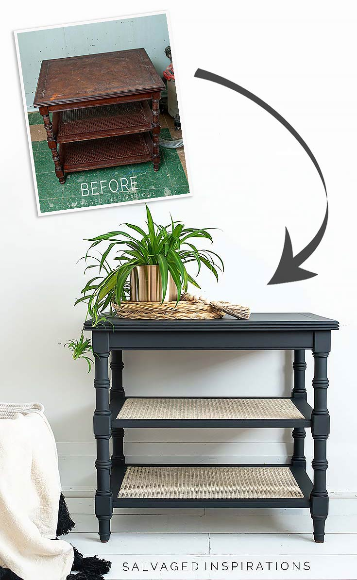 How To Paint Cane Webbing Furniture Salvaged Inspirations