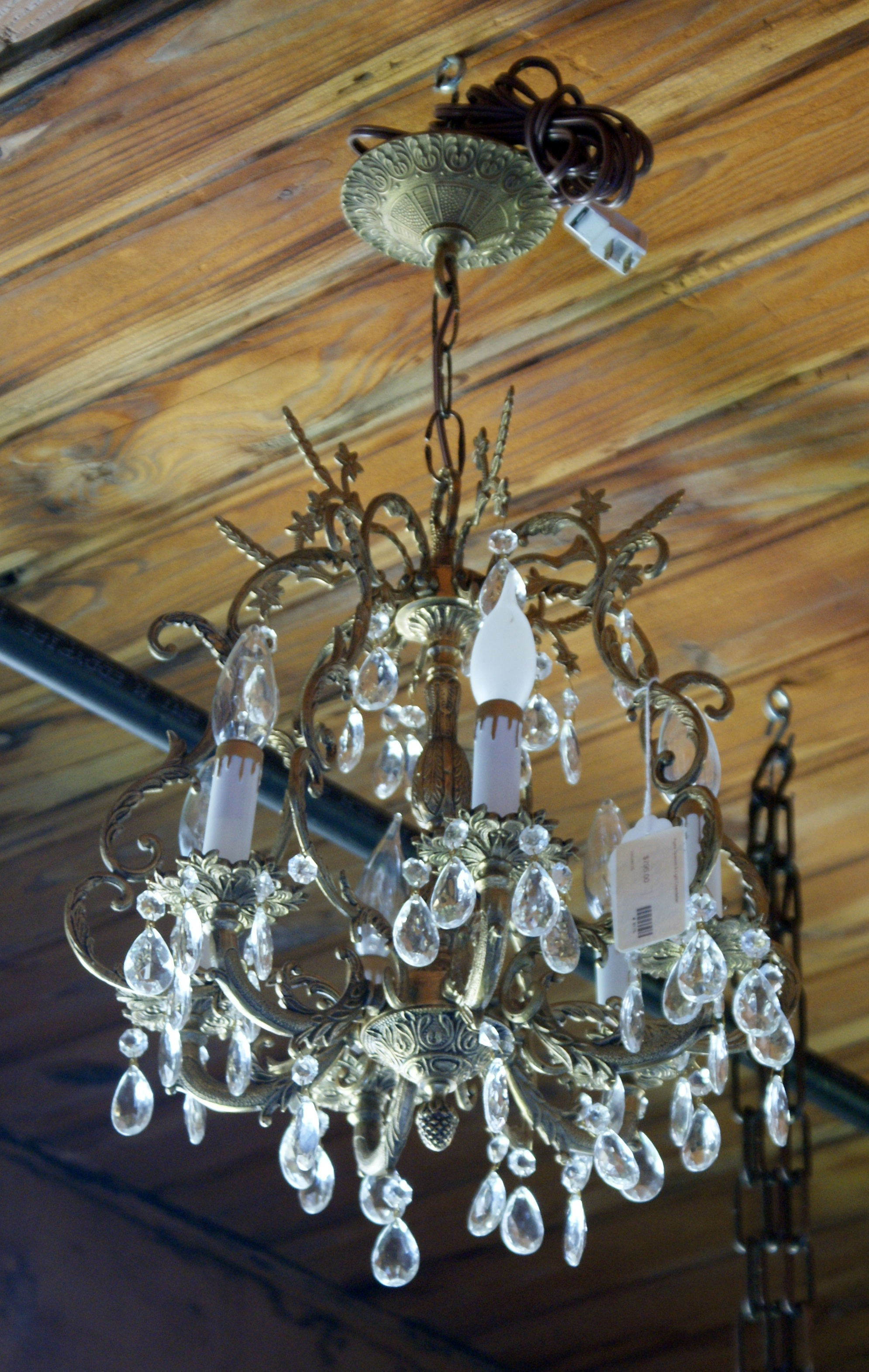 Spanish Chandelier Aged Spanish 5 Light Chandelier