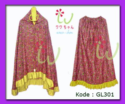 Mukena Batik Cantik Wawa Chan