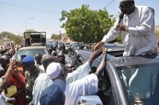 Le cortège du président de la République interrompu à  Ngaye Mékhé