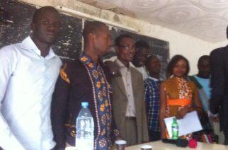 Jeunes de l'APD Tivaouane Diaksao