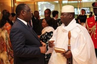 Conflit sur l'axe Dakar-Banjul : 5 ministres de Jammeh à Dakar