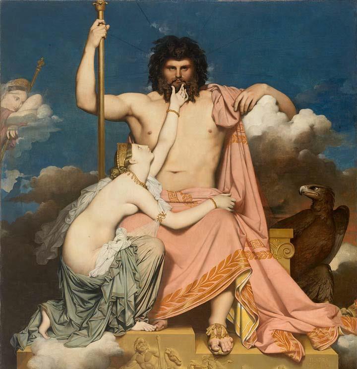 Jupiter et Thetis