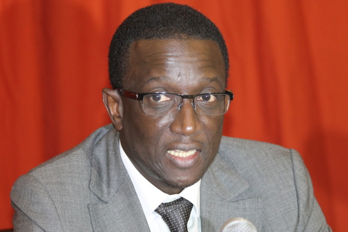 Ministre de l'économie, Amadou Ba