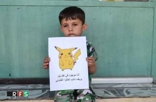 VIDÉO – Des enfants syriens lancent des appels à l'aide avec des images de Pokémons