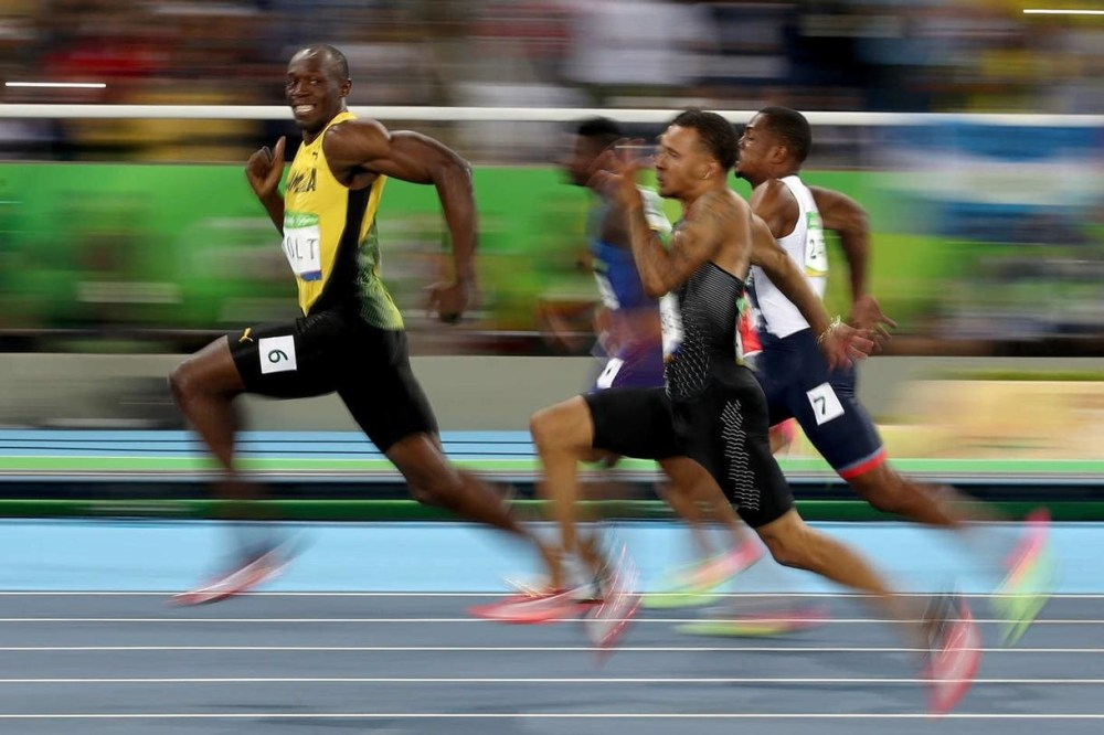 victoire Usain Bolt