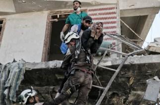 Syrie : des quartiers d'Alep en feu, nouvelles négociations à New York