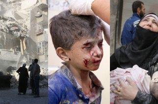 VIDÉO – Alep vit «son bombardement le plus intense»: des enfants tués, des corps déchiquetés, al-Assad utilise une nouvelle arme