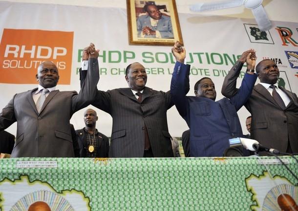 Coalition côte d'Ivoire