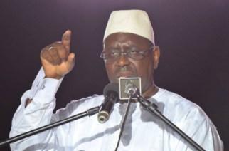 Tournée économique: Macky Sall à Kédougou, Tamba, Kaffrine et Kaolack à partir de Lundi