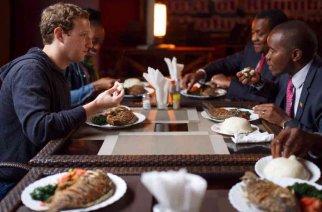 La visite africaine de Mark Zuckerberg…