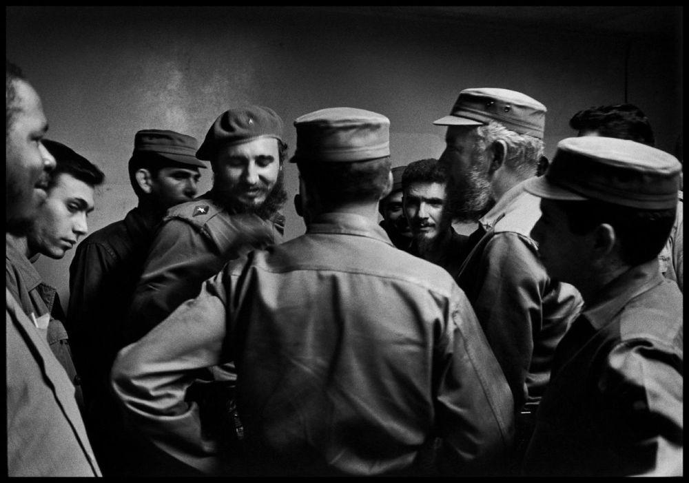Fidel Castro à la Havane, en 1964. Elliot Erwitt. Magnum Photos